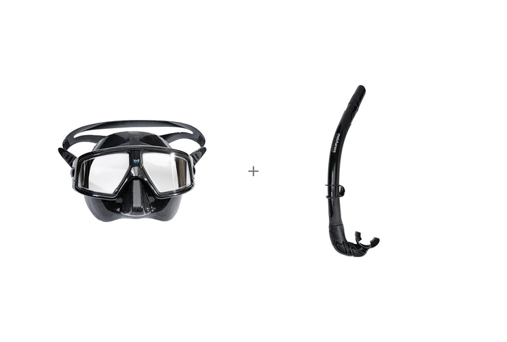 CORE Freediving Mask & Snorkel Bundle