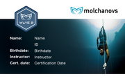 Molchanovs Freediving Certification Card