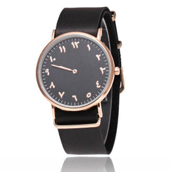 V5 Fashion Ultra-thin Leather Business Quartz Watch