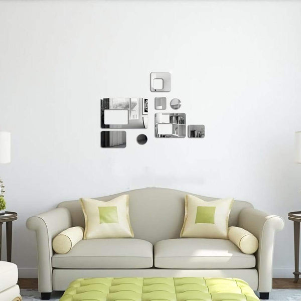 3D Creative Rectangular Solid Wall Stickers