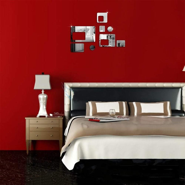 3D Creative Acrylic Rectangular Wall Stickers