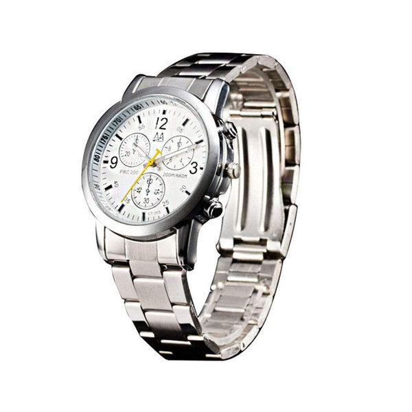 Men Fashion Alloy Steel Band