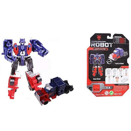 101 Mini Transformer Robot Model Toy Infinite for Children