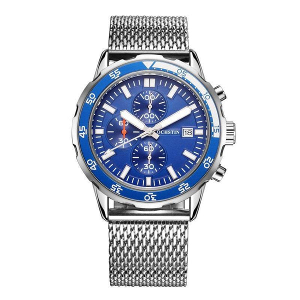 Chronograph Quartz Watch Waterproof