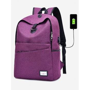 USB Charging Port Multi Function Backpack