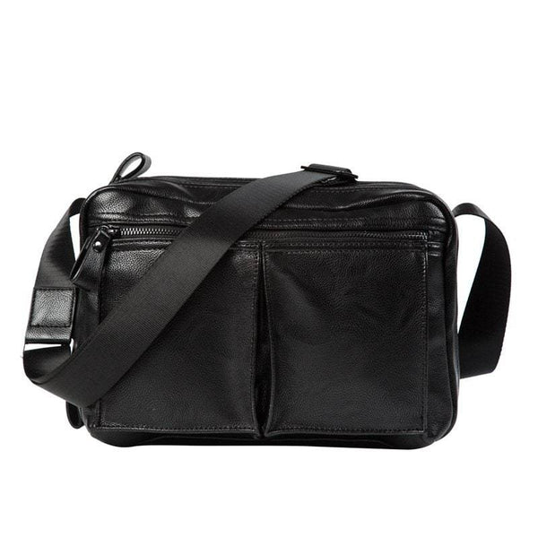 Single Shoulder Leather Crossbody Bag
