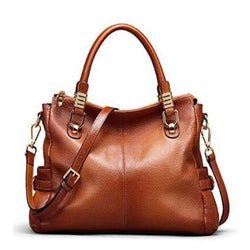 Leather Vintage Tote Shoulder Bag Top | HOTTOPTRENDS