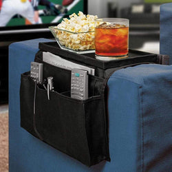Sofa Handrail Storage Bag Couch Armrest Arm Rest Organizer Remote Control Holder Bag