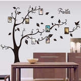 120X170CM Photo Tree Frame Wall Sticker for Family Decoration