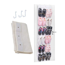 24 Pocket Door Closet Hanging Shoes Storage Bag