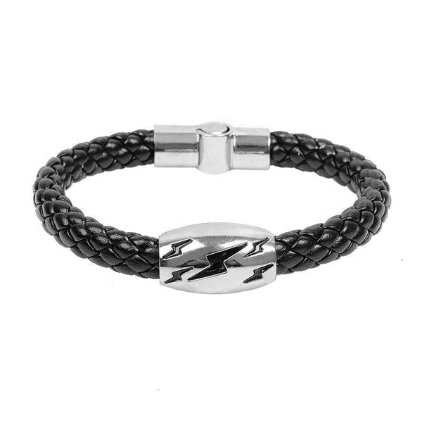 Snake Woven Leather Bracelet