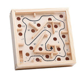 Ball in Maze Puzzle Handcrafted Puzzle Toy for Kids Mini Size