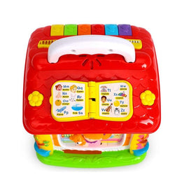 Huile Enlightenment Clubhouse Multifunctional Baby Story Puzzle Toy