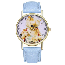 ZhouLianFaT16 Fashion Cat Pattern Belt Quartz Watch