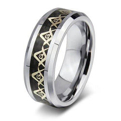 Alloy Triangle Ring