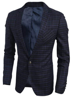 Breast Pocket Single Button Blazer