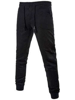 Active Drawstring Waist Cuffed Sweatpants