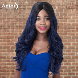 Adiors Highlight Wavy Long Shaggy Centre Parting Synthetic Wig
