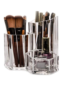 Acrylic Brush Holder Makeup Organizer | HOTTOPTRENDS