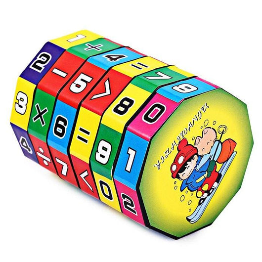6 Layers Intelligent Puzzle Cube Children Education Learning Math Toy for Children