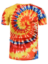 All Over Print Tie Dye T-Shirt