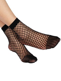 Fish Net Plain Ankle Socks | HOTTOPTRENDS