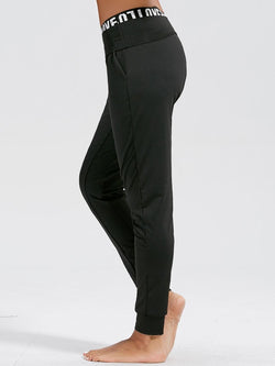 High Waist Sports Jogger with Pockrts