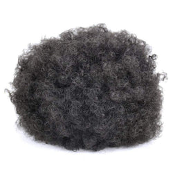 Heat Resistant Synthetic Fluffy Afro Curly Bun Chignon