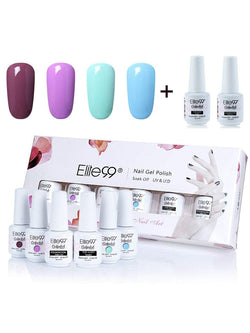 UV LED Soak Off Lacquer Nail Set | HOTTOPTRENDS