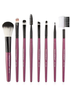 8Ps Professional Nylon Eye Makeup Brushes Set