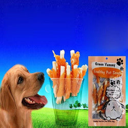 Pet Snacks Dog Food Chicken Moral Bone Sticks