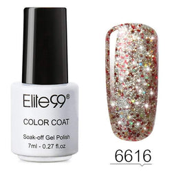 7 ML Glitter Colors Soak Off Nail Polish | HOTTOPTRENDS