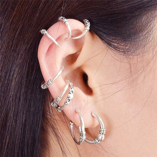 Alloy Vintage Ear Cuff Set