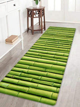 Bamboo Pole Print Floor Area Rug