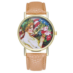 Zhou Lianfa New Fashion Gold Dial Lychee Pattern Beauty Chart