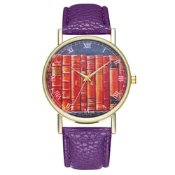 ZhouLianFa T25 Fashion Book Pattern Belt Quartz Watch