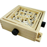 Ball in Maze Puzzle Handcrafted Puzzle Toy for Kids