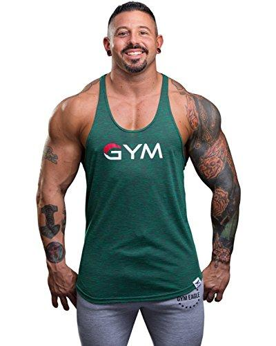 Men's Gym Stringer Tank Top