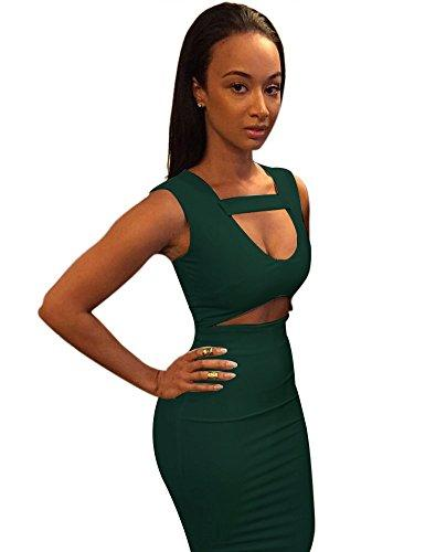Bodycon Mid Bandage Party Dress