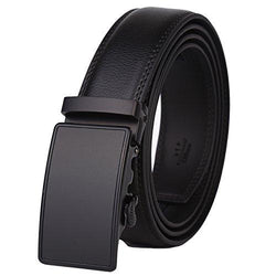 Men's Leather Ratchet Dress Belt