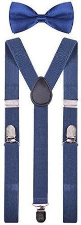 Suspenders for Men and Pre Tied Bowtie | HOTTOPTRENDS
