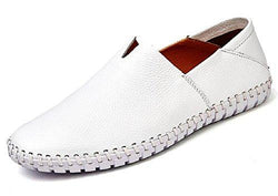Leather Loafer Slip On Shoes