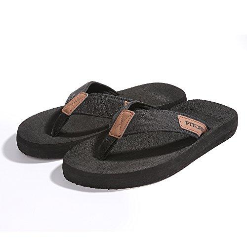 FITORY Men's Flip-Flops for Beach