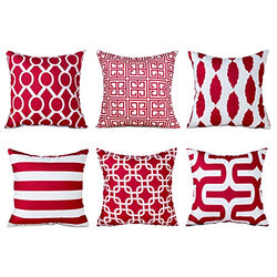 Top Finel Brushed Microfiber Square Decorative Throw Pillows Cushion Covers Pillowcases For Sofa Set