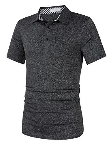Men's Active Wear Dry Fit Golf Polo Shirts