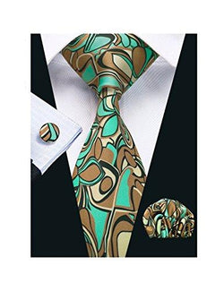 Printed Silk Tie | HOTTOPTRENDS