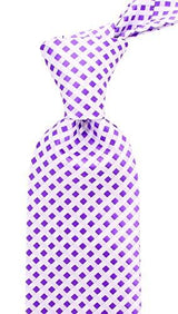 Mens Checkerboard Necktie