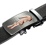 Men's alloy Ratchet belt automatic buckle