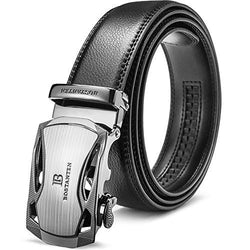 Leather Ratchet Dress Belt