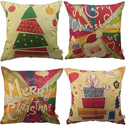 HOSL SD24 Merry Christmas Series Throw Pillow Case Decorative Cushion Cover Pillowcase Square